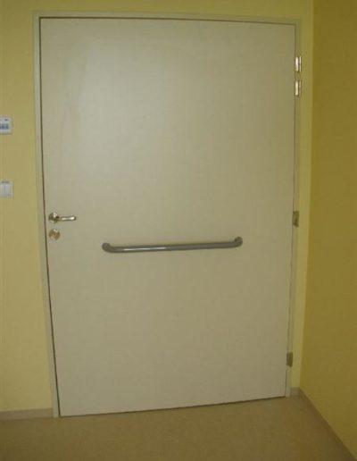 Dveře s klima úpravou
